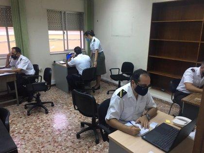 Los rastreadores de la Armada ya están apoyando a la Consejería de Salud para el seguimiento de casos positivos