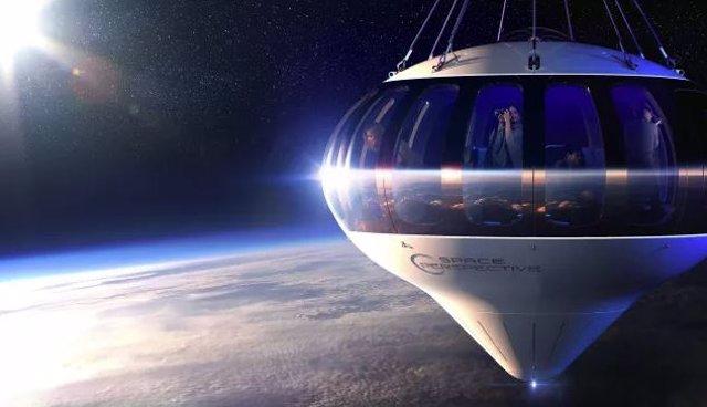 Un vuelo turístico en globo al borde del espacio se planea para 2024