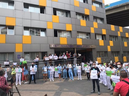 """Satse, ELA, LAB, SME, CCOO, UGT y ESK denuncian ante centros Atención Primaria vascos una presión """"insostenible"""""""