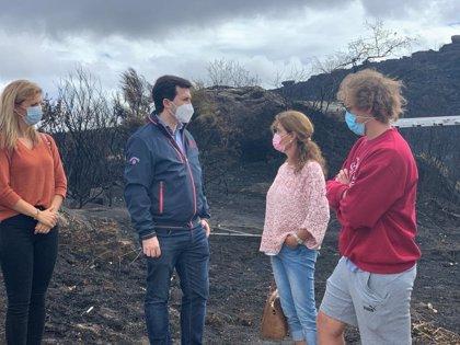 """G. Caballero censura que la Xunta fíe la lucha contra los incendios a """"la política de la lluvia"""""""
