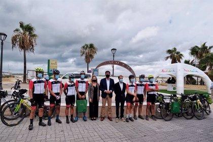 """Los integrantes de la ruta 'Magallanes-Elcano' llegan a Sanlúcar (Cádiz) para dar """"claves para un turismo sostenible"""""""