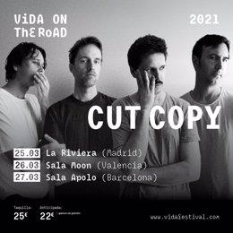 Cartell de Cut Copy