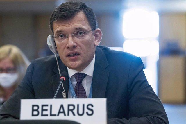 AMP.- Bielorrusia.- Bielorrusia fracasa en su intento de evitar que se presenten