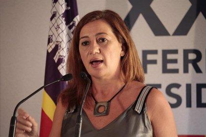Armengol reivindica la importancia de acabar con la discriminación laboral con motivo del Día de la Igualdad Salarial