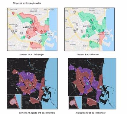 La presencia de virus en las aguas residuales de València aumenta y afecta a todas las áreas