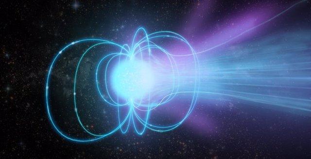 Primera medición directa de la distancia a un magnetar