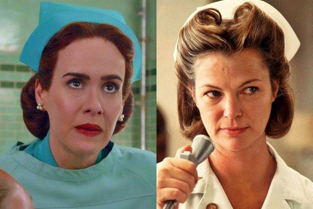 Sarah Paulson Louise Fletcher como la enfermera Ratched