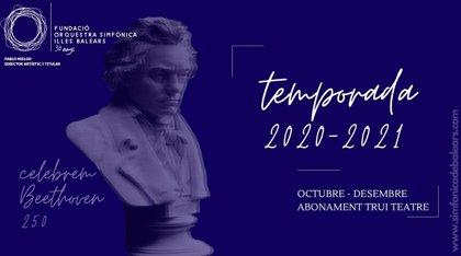 La Sinfónica de Baleares celebrará los conciertos de la temporada 2020-2021 en el Trui Teatre