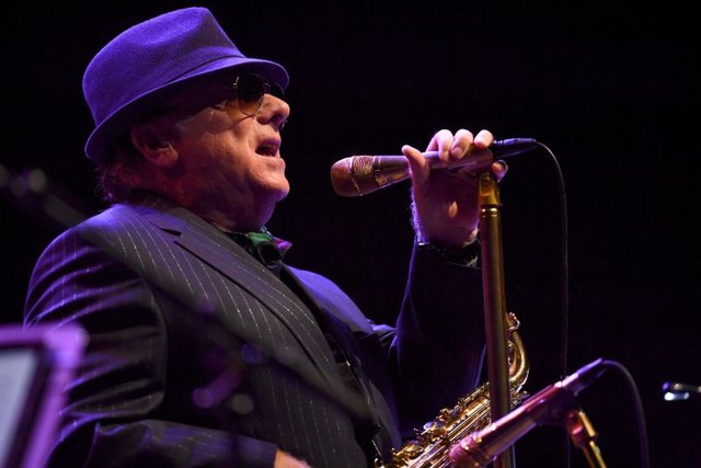 Van Morrison performs during the 18th Annual Americana Music Festival & Conference