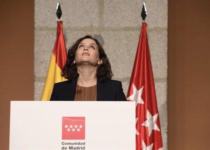 """Ayuso avisa a Sánchez de que """"no viene a tutelar"""" a la Comunidad de Madrid sino a """"colaborar"""""""