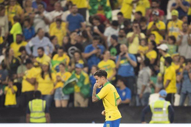 Fútbol.- Neymar, Coutinho y Rodrygo, en la lista de Brasil para el inicio de las
