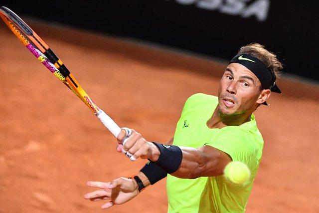 Tenis/Roma.- Nadal arrasa a Lajovic y se mete en cuartos de final
