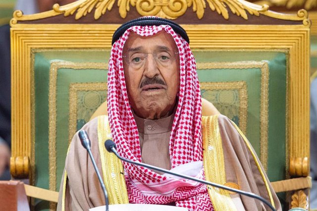 EEUU/Kuwait.- Trump concede la Legión del Mérito al emir de Kuwait