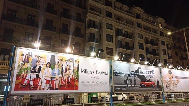 Cartelde la última película de Woody Allen que inaugura la 68 edición del Festival de San Sebastián