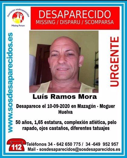 Alertan de la desaparición de un hombre de 50 años en Mazagón (Huelva)