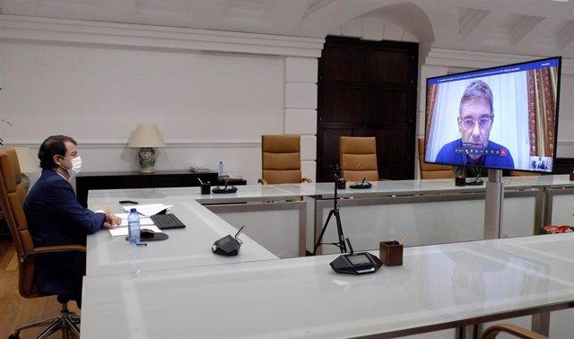 Mañueco preside la reunión del Comité de Expertos de CyL