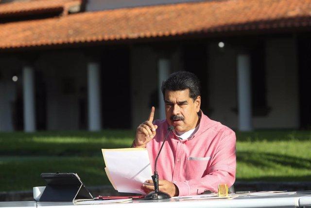 """Venezuela.- Maduro asegura que Pompeo """"está llamando a una guerra contra Venezue"""