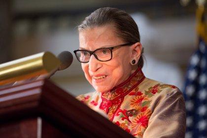 Muere la jueza del Tribunal Supremo de EEUU Ruth Bader Ginsburg a los 87 años