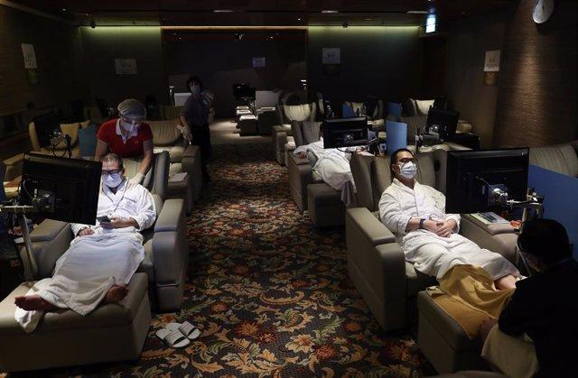 Coronavirus.- China notifica otros 14 casos de coronavirus importados y ninguno