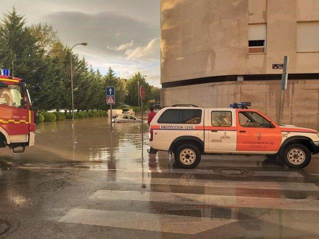 Inundaciones en Cuenca