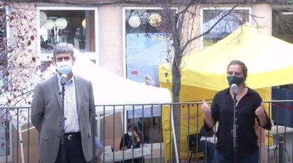 Salud pide que los vecinos de Trinitat Vella (Barcelona) participen en el cribado del barrio