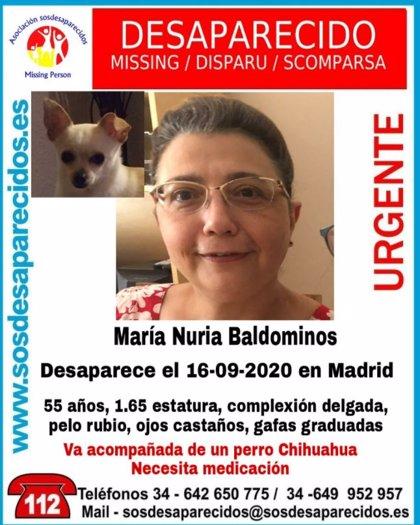 Desaparecida una mujer de 55 años que necesita medicación, acompañada de un perro chihuhua