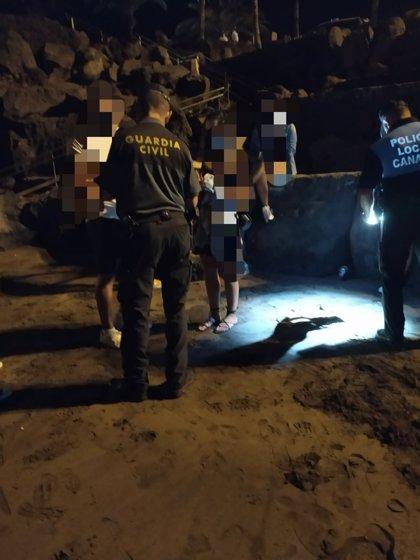 La Guardia Civil realiza siete denuncias durante un dispositivo de prevención contra la covid en Lanzarote