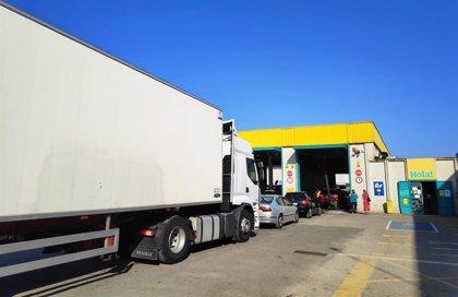 El transporte reduce su actividad un 51% de media en Gipuzkoa durante el confinamiento, según Guitrans