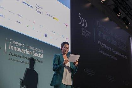 Impulsor de Coronavirus Makers valora en el congreso Elcano las entidades colaborativas por atajar cuestiones críticas