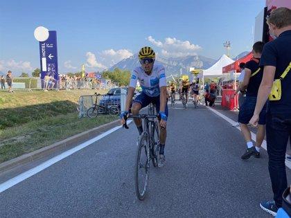 """Enric Mas: """"Es un gran resultado para el ciclismo español"""""""
