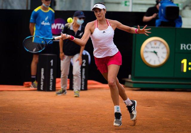 "Tenis/Roma.- Muguruza: ""He tenido que jugar mi mejor tenis para ganar a Azarenka"