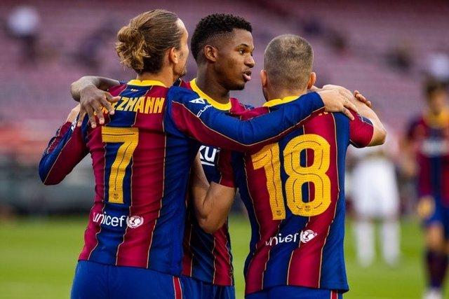 Fútbol.- El Barça se lleva el Trofeo Joan Gamper gracias a un gol de Griezmann