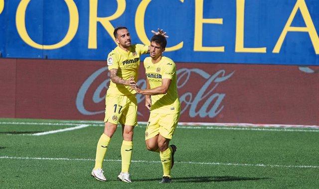 Fútbol/Primera.- (Crónica) Villarreal y Celta se ponen al mando tras lograr sus