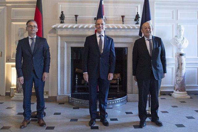 Irán.- Berlín, Londres y París dicen que la reintroducción de sanciones a Irán p