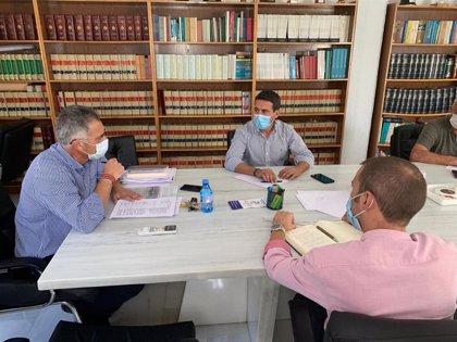 Diputación.- Diputación y Olula del Río planifican las inversiones hasta 2023