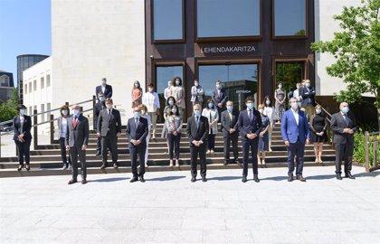 El Lehendakari preside este lunes en Vitoria un homenaje institucional a las víctimas del coronavirus