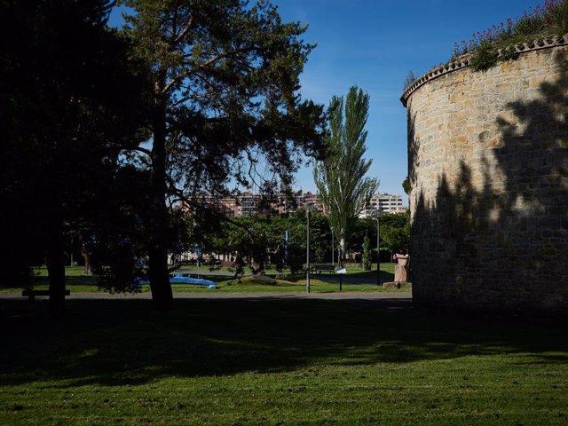 Parque de la Ciudadela en Pamplona