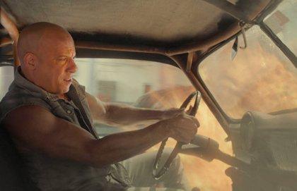 Fast & Furious 9: Vin Diesel, como un cohete en el póster fan del salto al espacio de la saga