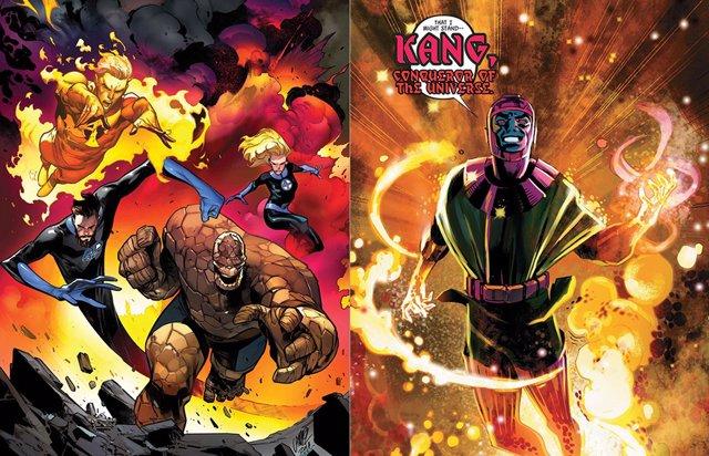 ¿Será Kang El Enlace Entre Los 4 Fantásticos Y El Universo Marvel?