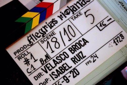 Velasco Broca comienza el rodaje de su corto 'Alegrías Riojanas' en Logroño, Herce y Santa Eulalia