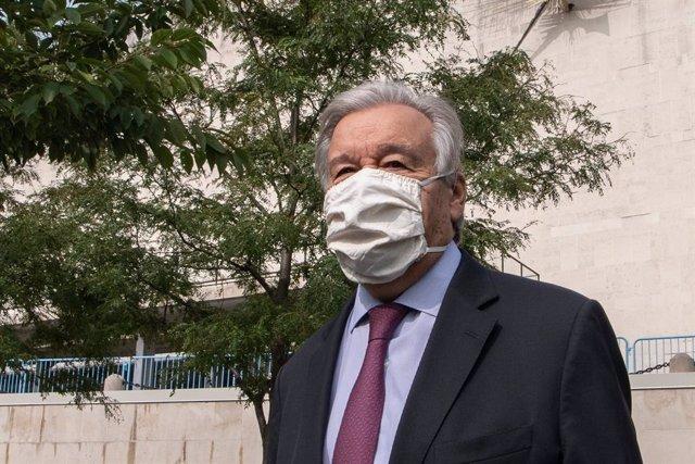 El secreatrio general de la ONU, António Guterres