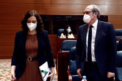 """Gabilondo niega un """"ensañamiento"""" del Gobierno central con Madrid y no descarta una moción de censura contra Ayuso"""