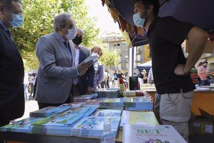 "Torra se compromete a ""hacer posible"" un centro de homenaje a la literatura infantil en Catalunya"