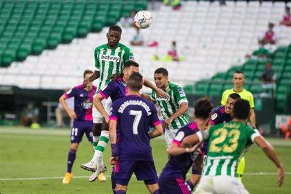 El Betis doblega al Valladolid y el Cádiz se estrena en Primera