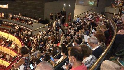 El Teatro Real cancela una función por protestas de asistentes por la falta de distancia de seguridad