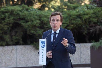"""Almeida pide a Sánchez que """"asuma"""" que viene a Madrid a """"cumplir con sus obligaciones"""" y """"no a echar una manita"""""""