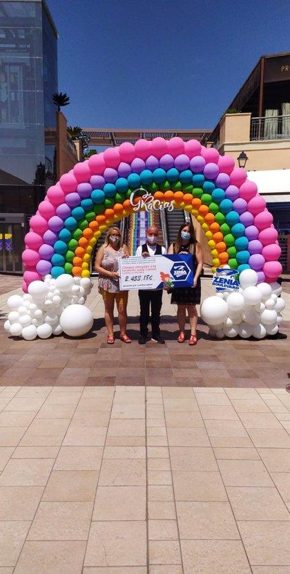 Zenia Boulevard dona 2.400 euros a la Fundación Josep Carreras para la lucha contra la leucemia