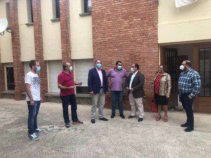 Ráfales comienza la reforma del colegio gracias al convenio entre DPT y Gobierno de Aragón