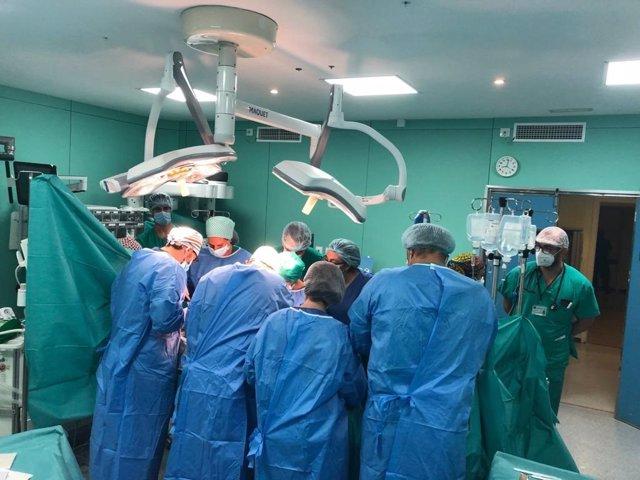 Donaciones multiorgánicas en el hospital Puerta del Mar