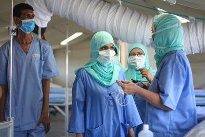 Yemen.- El CICR abre un centro para pacientes de COVID-19 en Yemen con el temor a un nuevo repunte de casos